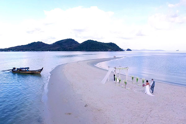 Koh Yao Beach Wedding