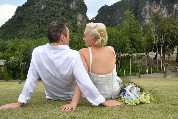 Krabi Garden Wedding Ceremony